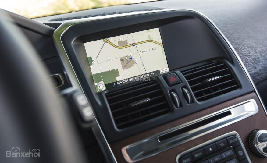 Đánh giá Volvo XC60 2017: Màn hình thông tin giải trí 7 inch.