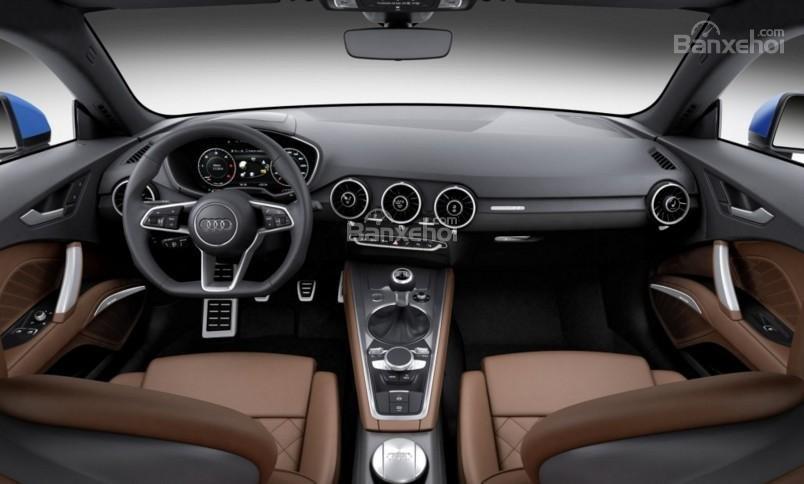 Đánh giá xe Audi TT 2017: Thiết kế nội thất hoàn toàn mới a1