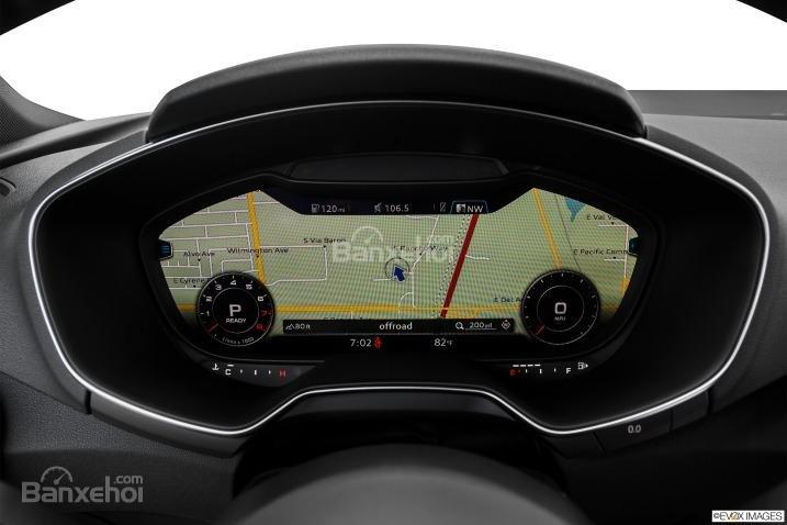 Đánh giá xe Audi TT 2017: Tất cả các thông tin sẽ hiển thị trên bảng đồng hồ lái a3