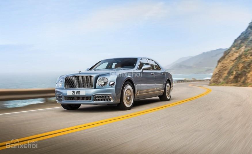 Đánh giá xe Bentley Mulsanne 2017 về khả năng tiết kiệm nhiên liệu