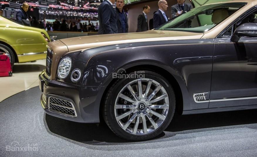 Đánh giá xe Bentley Mulsanne 2017: Thiết kế la-zăng bản EWB.