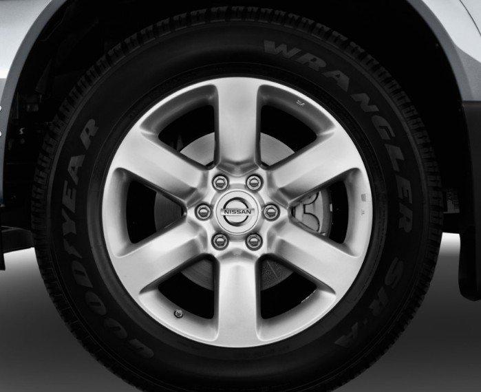 Đánh giá xe Nissan Titan 2017: Bánh xe.