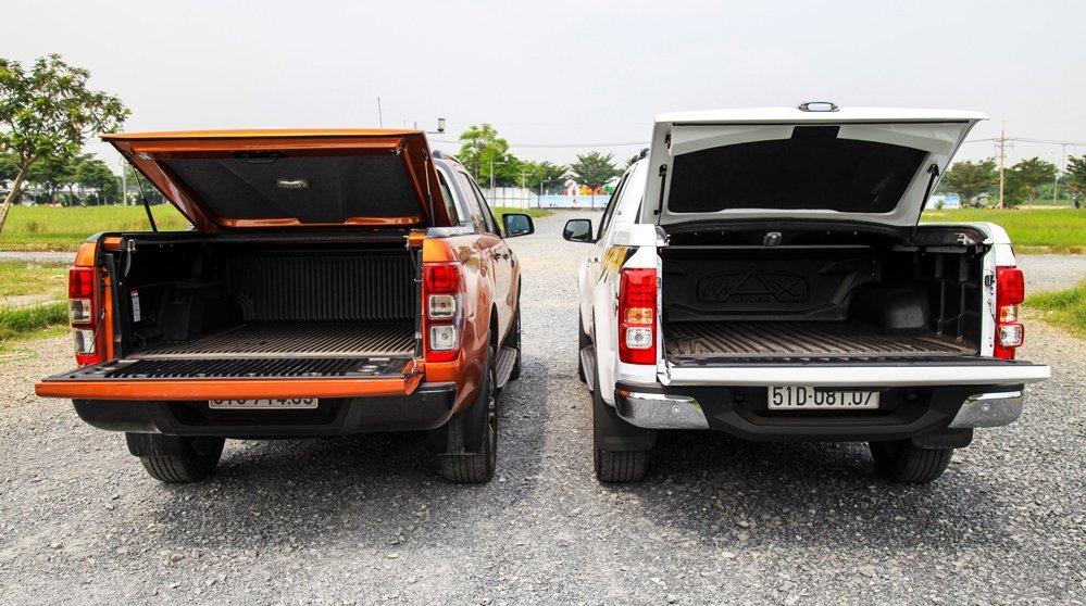 So sánh nội thất Ford Ranger Wildtrak 2016 và Chevrolet Colorado High Country 2017 9