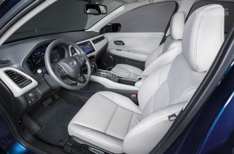 Không gian ghế ngồi trên Honda HR-V 2017 a1
