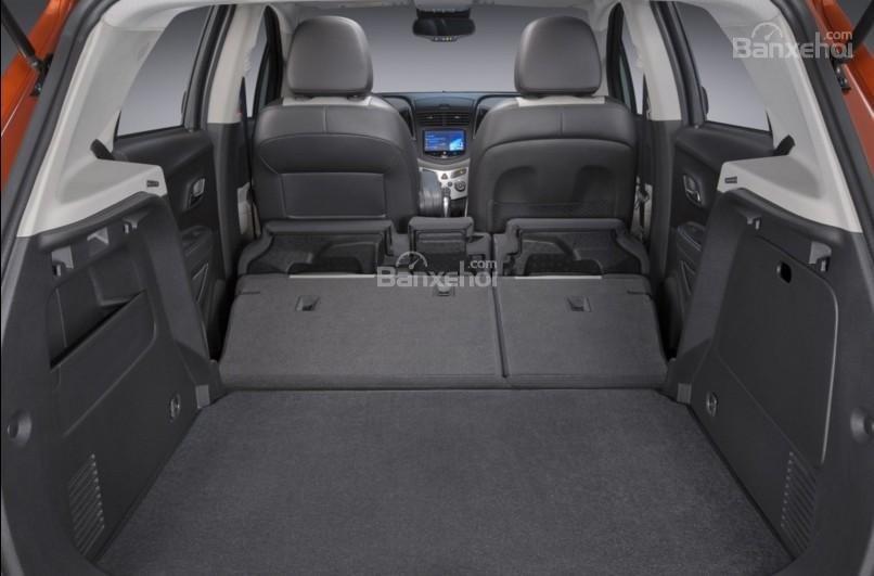 Khoang chứa đồ Chevrolet Trax 2017 a1