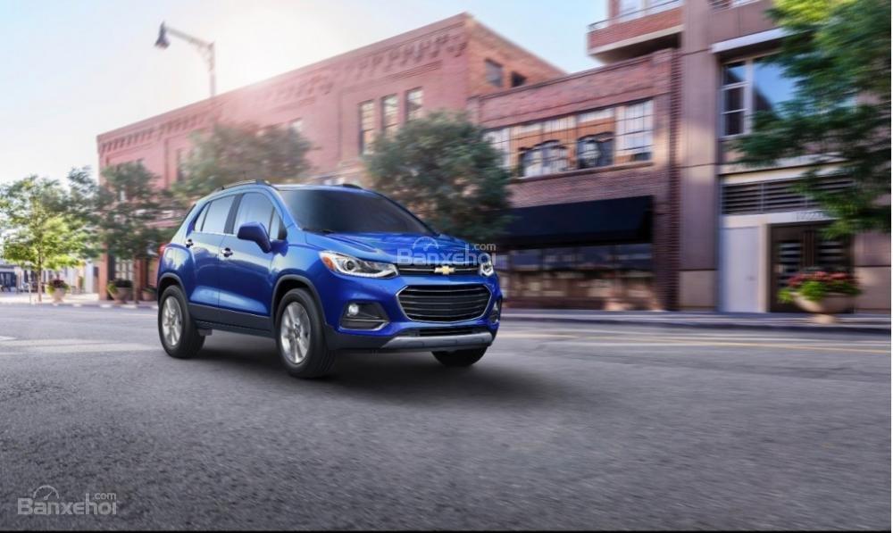 Chevrolet Trax 2017 được trang bị nhiều công nghệ an toàn tiên tiến.