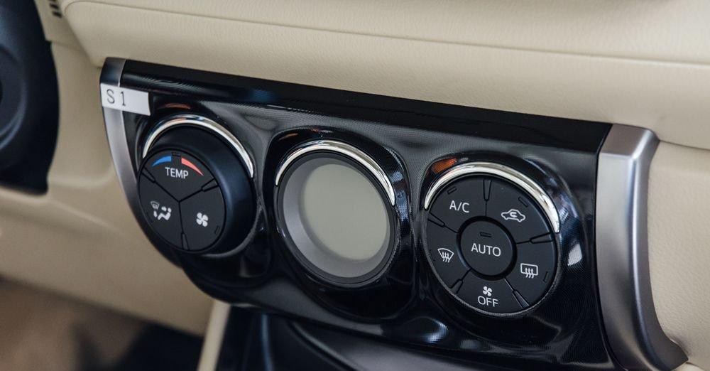 Đánh giá xe Toyota Vios 2017 có điều hòa tự động phiên bản G.
