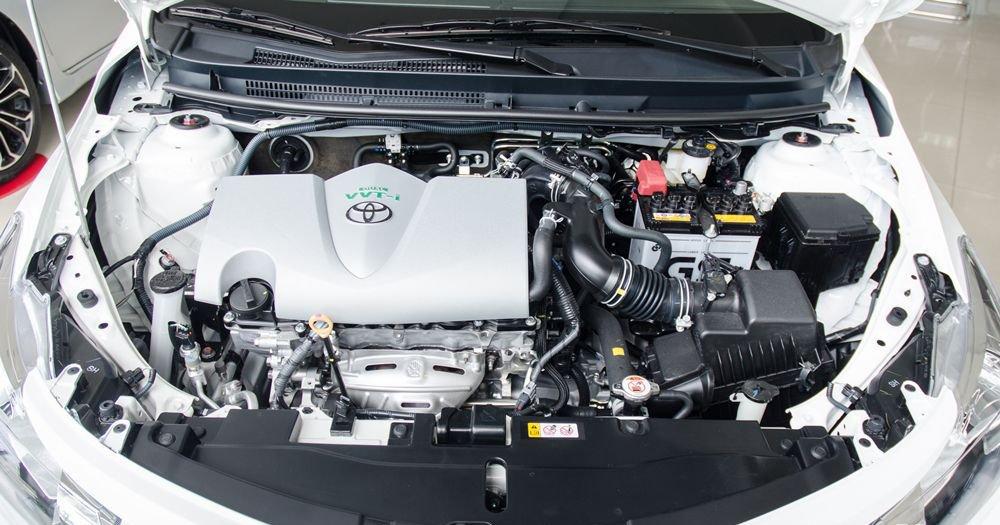 Đánh giá xe Toyota Vios 2017 có động cơ 1.5L đạt công suất 107 mã lực.