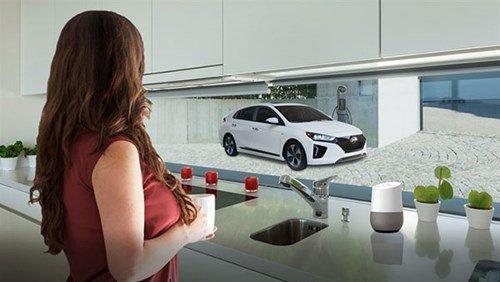 Công nghệ mới giúp xe Hyundai kết nối với nền tảng của Google Home.