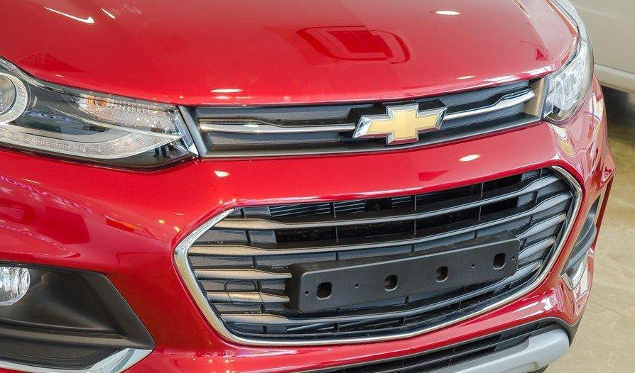 Đánh giá xe Chevrolet Trax 2017: Lưới tản nhiệt đa giác cỡ lớn