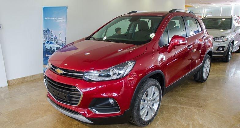 Chevrolet Trax 2017 sở hữu kích thước nhỉnh hơn so với 2 mẫu xe từ Ford và Suzuki 1