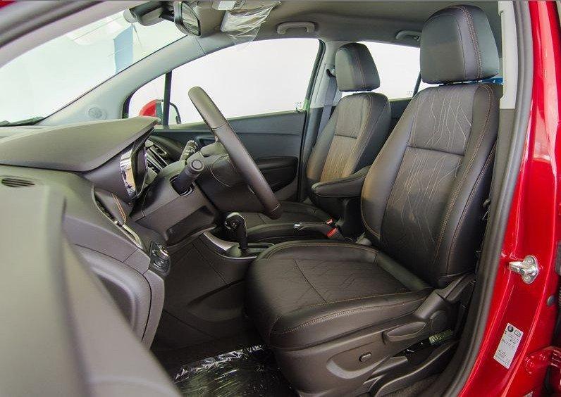 Đánh giá xe Chevrolet Trax 2017 về thiết kế ghế ngồi 1