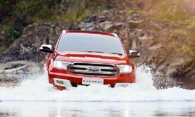 """Ford Everest mới sở hữu hệ thống an toàn có thể nói là """"tận răng"""" 1"""
