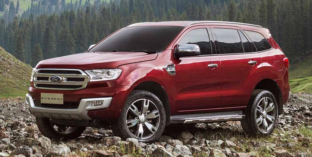 Đánh giá xe Ford Everest 2017: Thiết kế hao hao giống người anh em Ranger với phong cách thể thao, khỏe khoắn 1