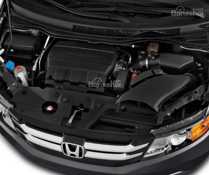 Đánh giá xe Honda Odyssey 2018: Xe sở hữu động cơ V6.