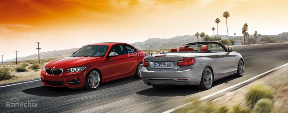 BMW 2-Series 2017 hội tủ đầy đủ các phẩm chất của một chiếc BMW đích thực.