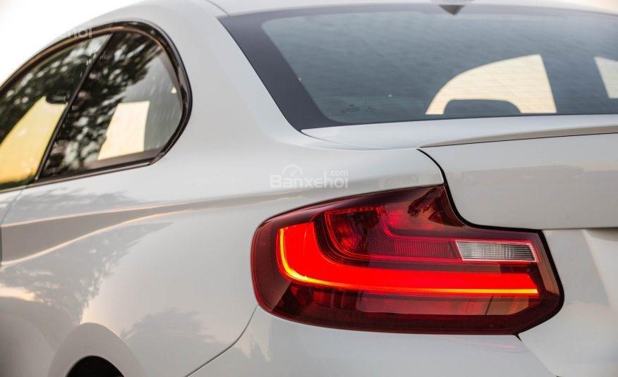 Đánh giá xe BMW 2-Series 2017: Đuôi xe nổi bật với đèn hậu chữ L đặc trưng a1