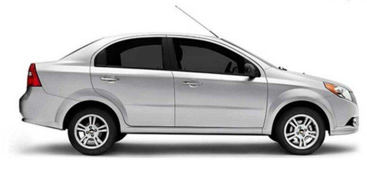 Đánh giá xe Chevrolet Aveo 2017: kích thước tổng thể Dài x Rộng x Cao tương ứng 4.310 x 1.710 x 1.505 (mm) 1