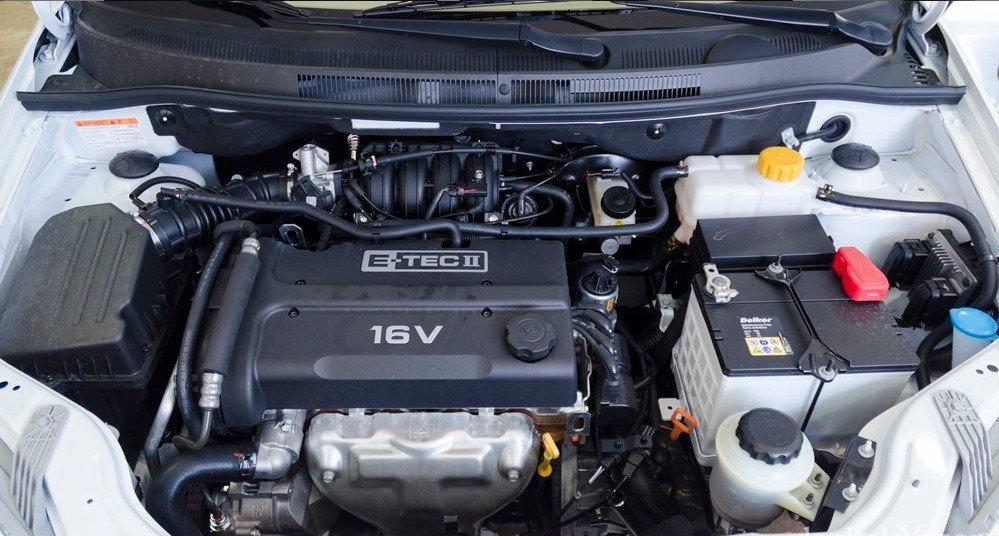 Cả hai phiên bản Aveo LT và LTZ đều sử dụng động cơ xăng 4 xilanh với dung tích 1.4 lít trục cam đôi - DOHC 1