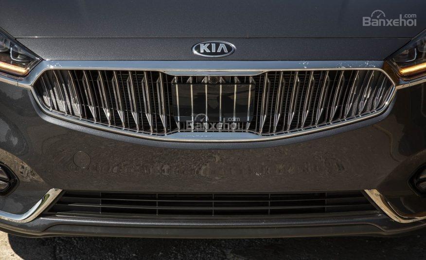 Đánh giá xe Kia Cadenza 2017: Lưới tản nhiệt mũi hổ.