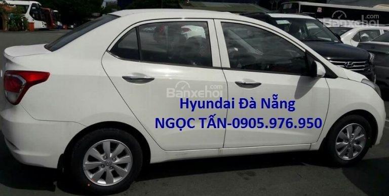 Hyundai Đà Nẵng **0905.976.950** bán xe Hyundai Grand i10 Sedan số sàn đời 2019, màu trắng, nhập khẩu CKD-2