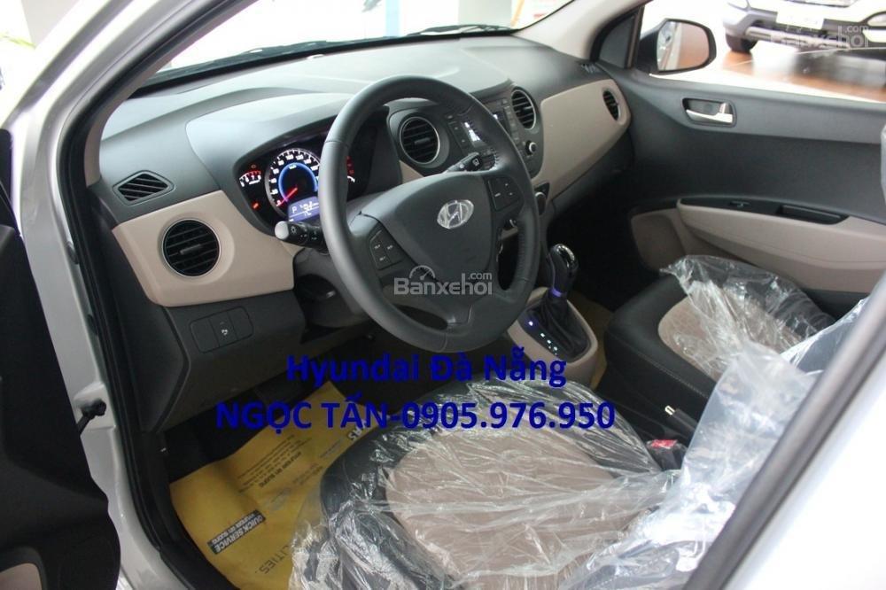 Hyundai Đà Nẵng **0905.976.950** bán xe Hyundai Grand i10 Sedan số sàn đời 2019, màu trắng, nhập khẩu CKD-4