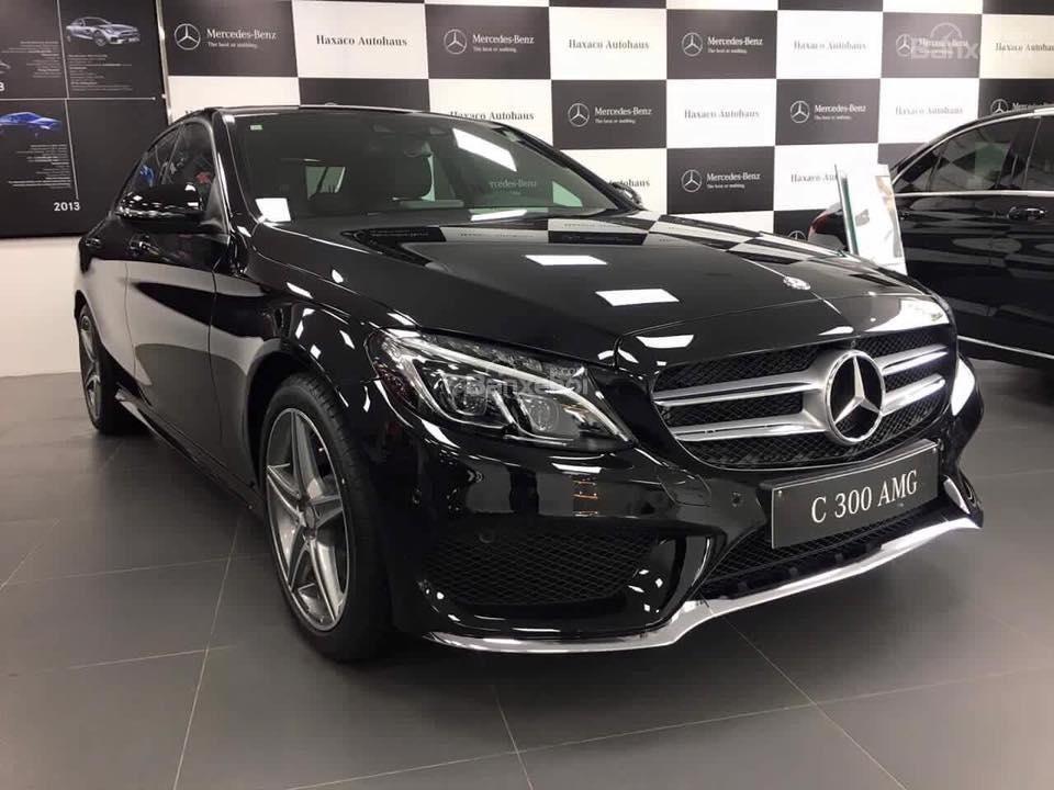 Kết quả hình ảnh cho Mercedes C300 AMG 2017