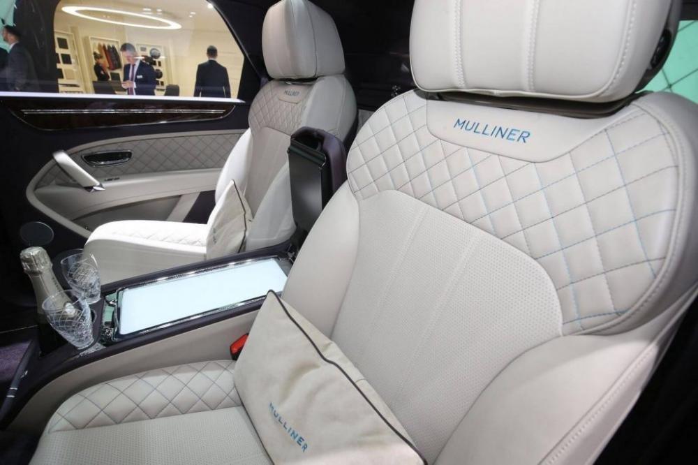 Bentley Bentayga Mulliner chính thức xuất hiện tại Geneva, dằn mặt Lamborghini 4