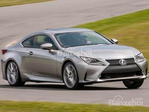 Đánh giá xe Lexus RC 2017: Cho cảm giác lái mượt mà.