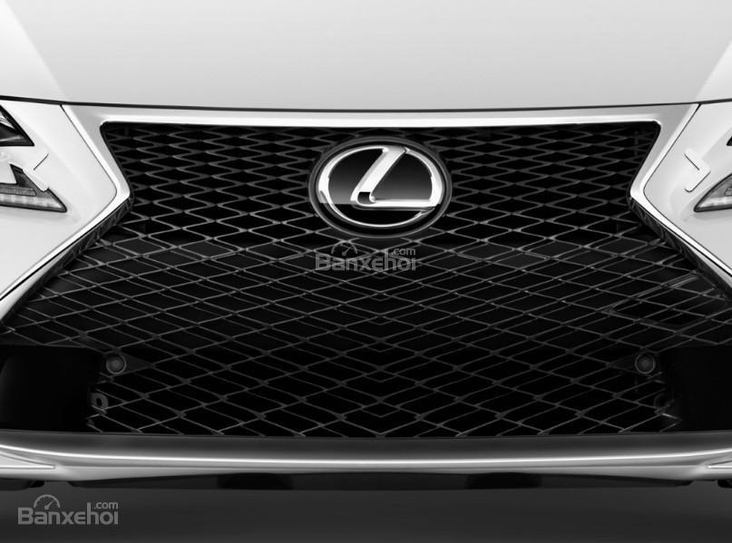 Đánh giá xe Lexus RC 2017: Lưới tản nhiệt đặc trưng.