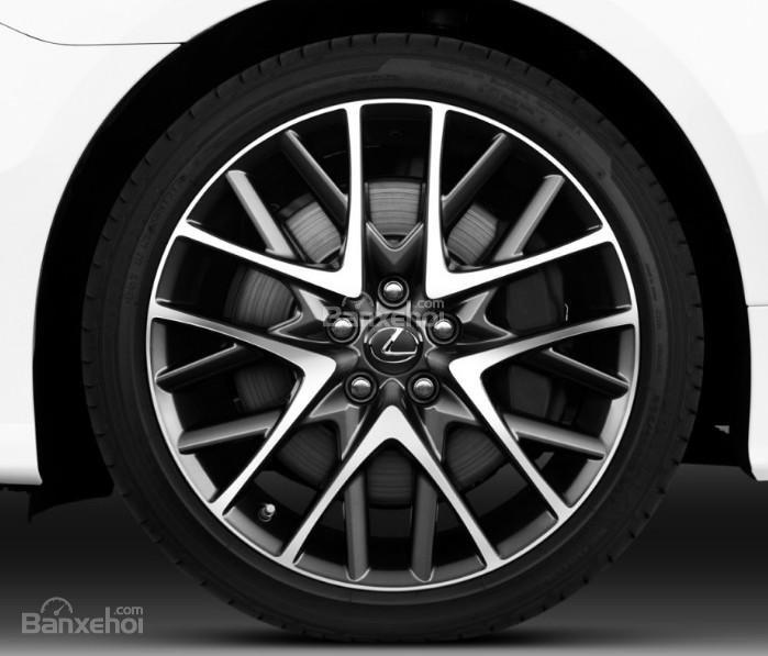 Đánh giá xe Lexus RC 2017: Mâm xe hợp kim