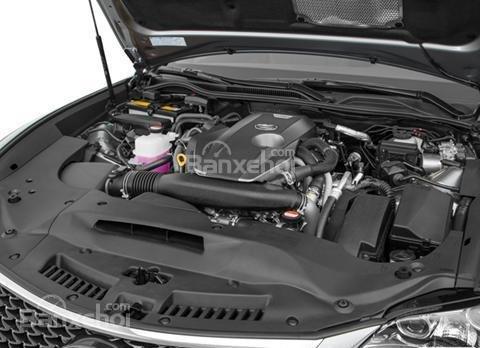 Đánh giá xe Lexus RC 2017: Xe sở hữu động cơ V6.