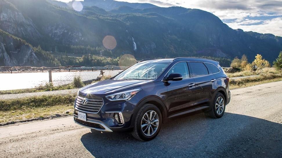 Hyundai Santa Fe 2017 đạt chuẩn an toàn Top Safety Pick+.
