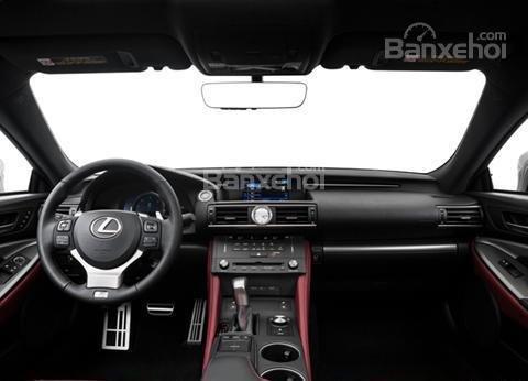 Đánh giá xe Lexus RC 2017: Nội thất xe sang trọng.