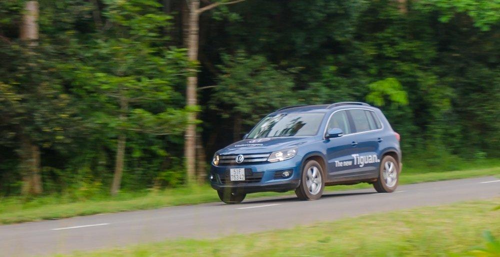 Volkswagen Tiguan 2016 cho khả năng vận hành ổn định, mạnh mẽ.