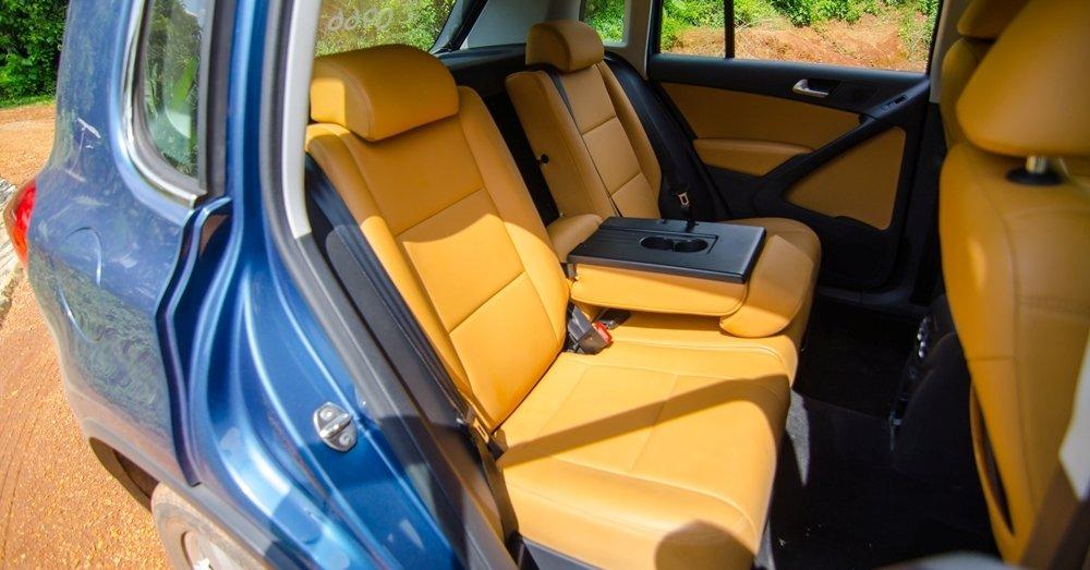 Đánh giá xe Volkswagen Tiguan 2016 về ghế ngồi và không gian hành khách a3