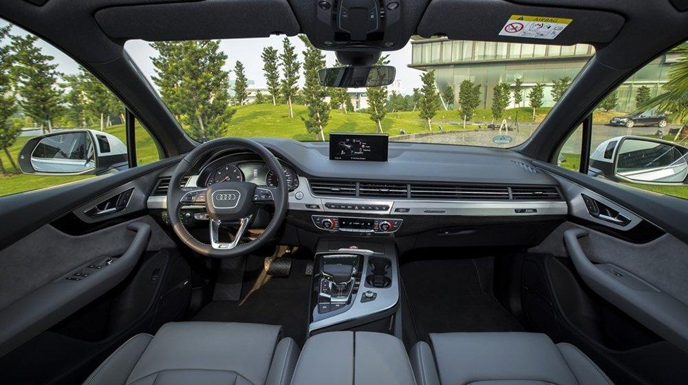 """Audi Q7 2016 sở hữu không gian thông minh """"trông nhỏ mà không hề nhỏ"""" ."""