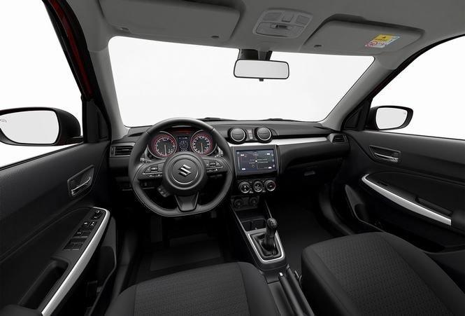 Thiết kế nội thất của Suzuki Swift 2017 đã xóa bỏ sự đơn điệu, nhàm chán ở thế hệ cũ 1
