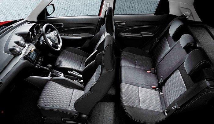Đánh giá xe Suzuki Swift 2017 về thiết kế ghế ngồi 1