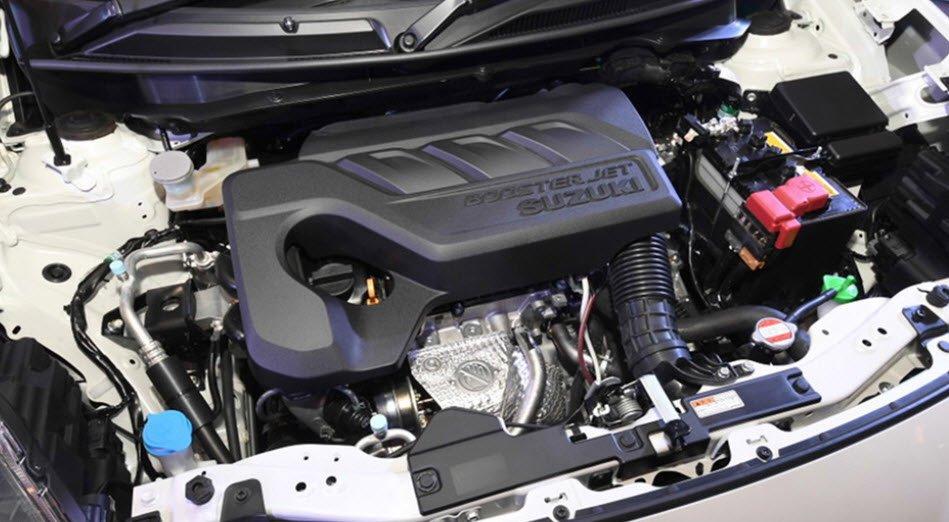 Suzuki Swift RS 2017 sở hữu động cơ xăng 4 xi-lanh thẳng hàng, dung tích 1.4L 1