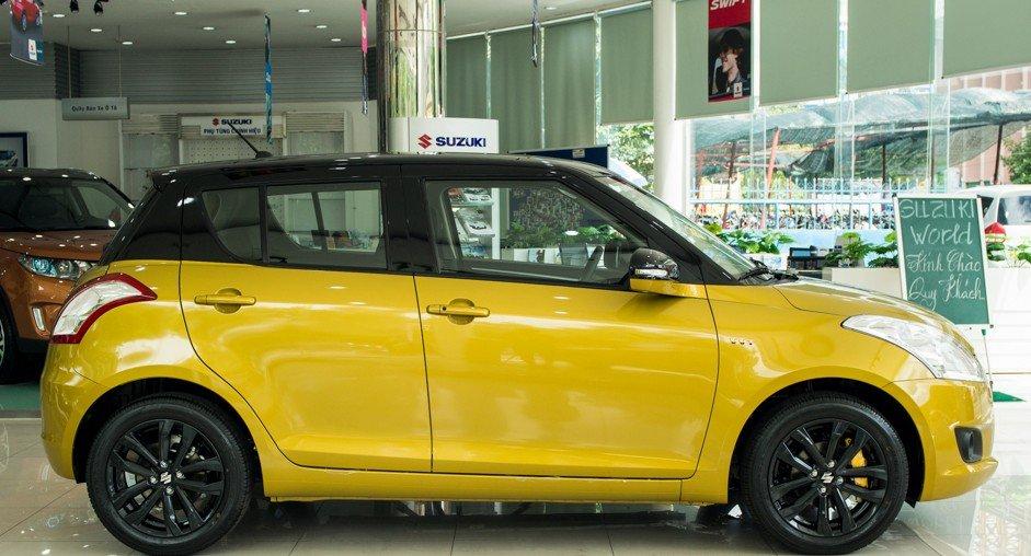 Đánh giá xe Suzuki Swift 2017 về thiết kế thân xe 1