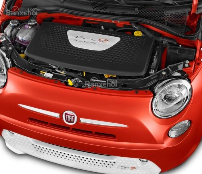 Đánh giá xe Fiat 500e 2017: Đây là mẫu xe đô thị sở hữu động cơ điện.