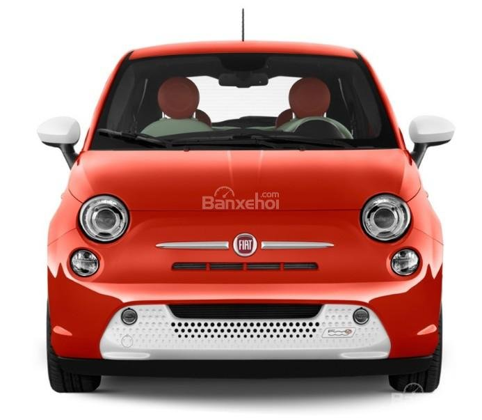 Đánh giá xe Fiat 500e 2017: Thiết kế đầu xe nhỏ nhắn.