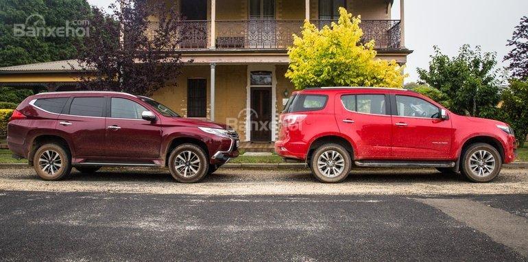 So sánh xe Mitsubishi Pajero Sport 2017 và Chevrolet Trailblazer 2017 về trang bị cơ bản: Nhật vượt mặt Mỹ.