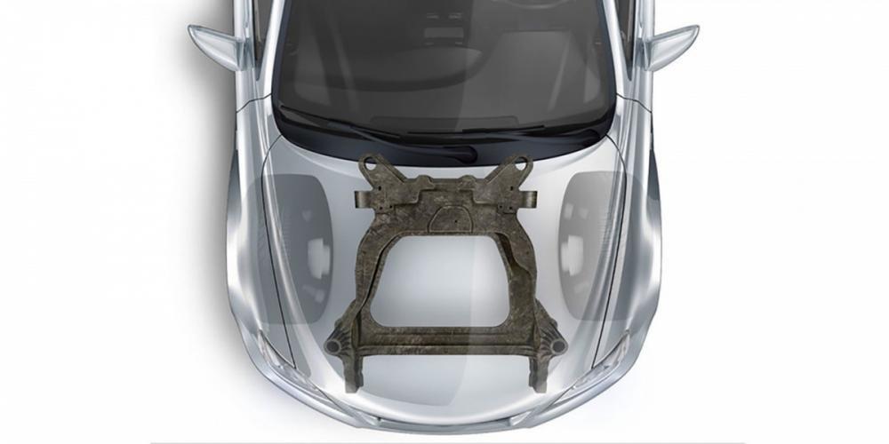 Ford phát triển khung phụ subframe nhẹ hơn 34%.