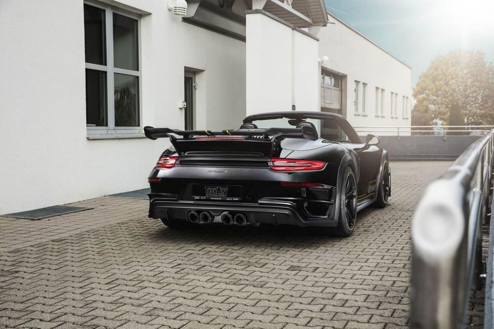 TechArt gây bất ngờ khi tinh chỉnh Porsche 911 Turbo Cabriolet mạnh khó tin 5