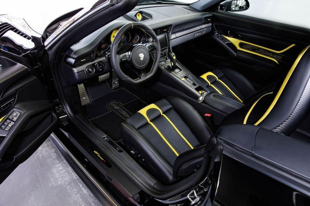 TechArt gây bất ngờ khi tinh chỉnh Porsche 911 Turbo Cabriolet mạnh khó tin 3