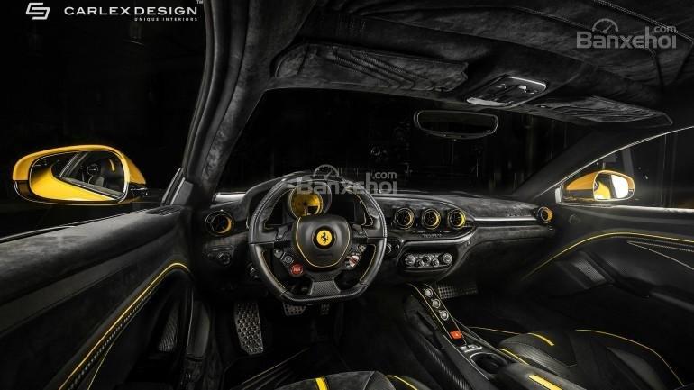 Chiêm ngưỡng xế độ Ferrari F12 Berlinetta màu vàng chuối cực đẹp 2