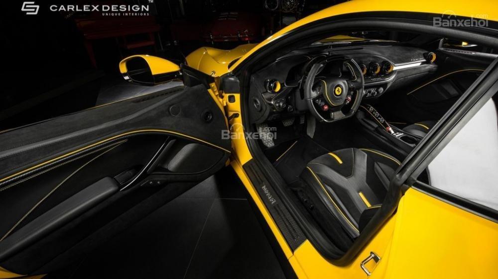 Chiêm ngưỡng xế độ Ferrari F12 Berlinetta màu vàng chuối cực đẹp 1