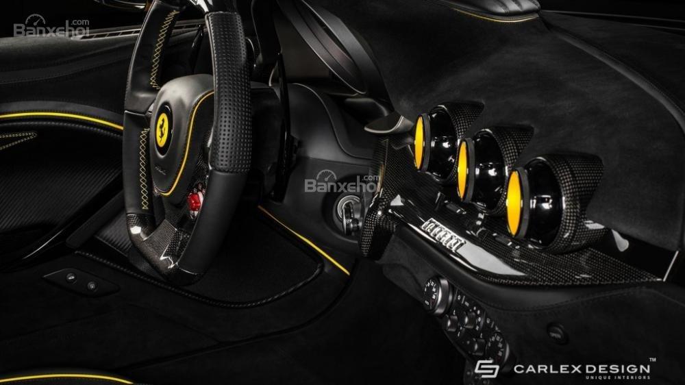 Chiêm ngưỡng xế độ Ferrari F12 Berlinetta màu vàng chuối cực đẹp 4